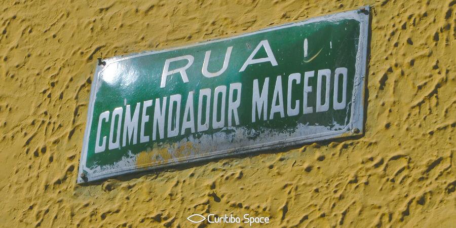 Quem foi: Comendador Macedo - Curitiba Space