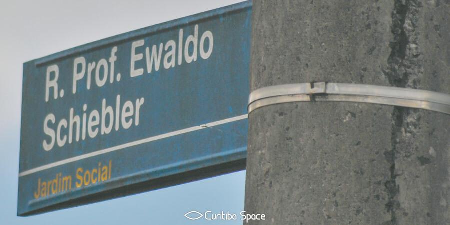 Quem foi: Ewaldo Schiebler - Curitiba Space