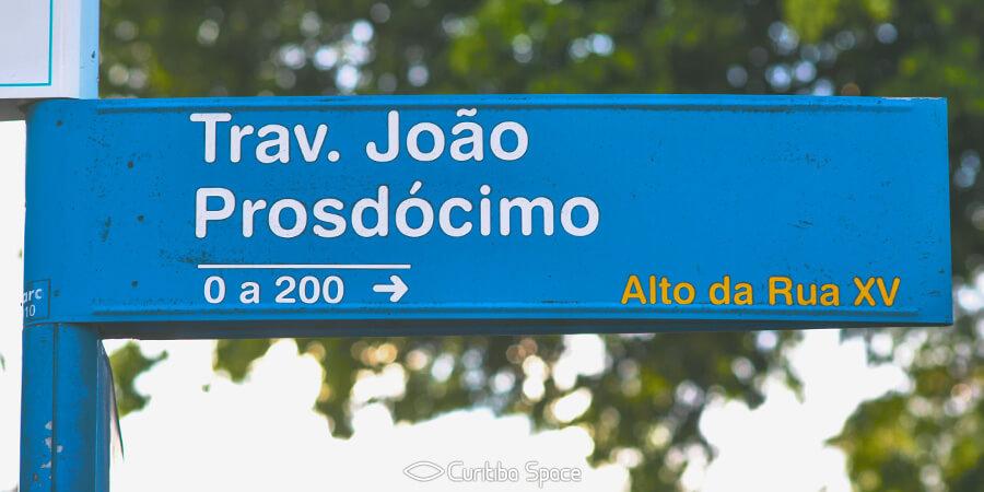 Quem foi João Prosdócimo - Curitiba Space