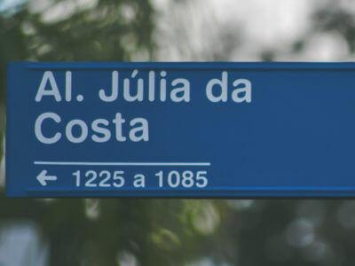 Quem Foi: Júlia Da Costa