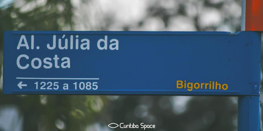 Quem foi: Júlia da Costa - Curitiba Space