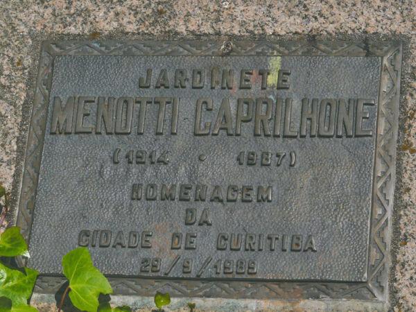 Quem Foi: Menotti Caprilhone