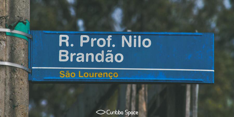 Quem foi: Nilo Brandão - Curitiba Space