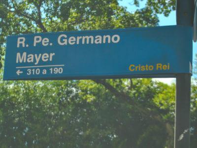 08 De Março: Nascimento De Germano Mayer