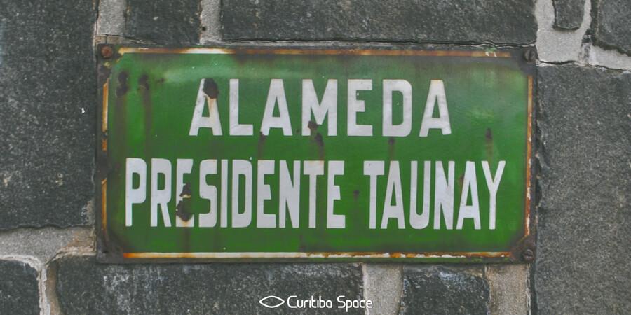 Quem foi: Presidente Taunay - Curitiba Space