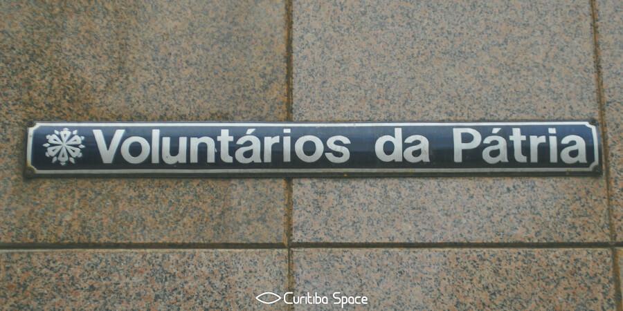 Quem foi: Voluntários da Pátria - Curitiba Space