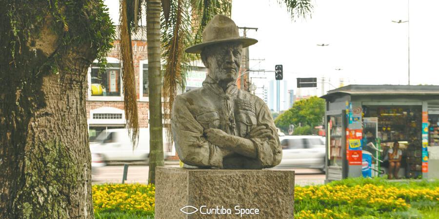 Robert Stephenson Smyth Baden-Powell - Largo Baden-Powell - Curitiba Space