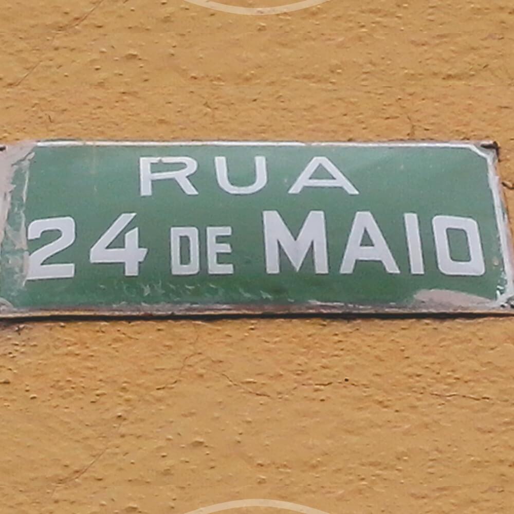 Rua 24 De Maio: Data Da 1ª Batalha De Tuiuti