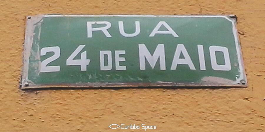Rua 24 de Maio - Curitiba Space