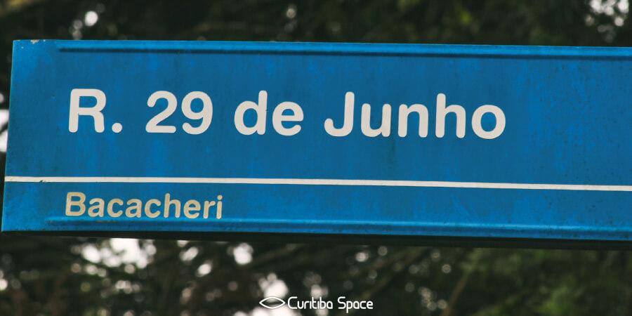 Rua 29 de junho título da Copa do Mundo de 1958 - Curitiba Space