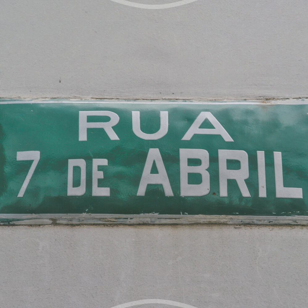 Rua 7 De Abril: Abdicação De Dom Pedro I