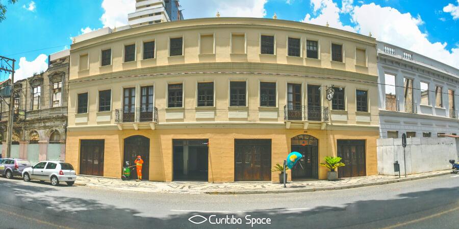 Sobrado do Hotel Roma - Curitiba Space