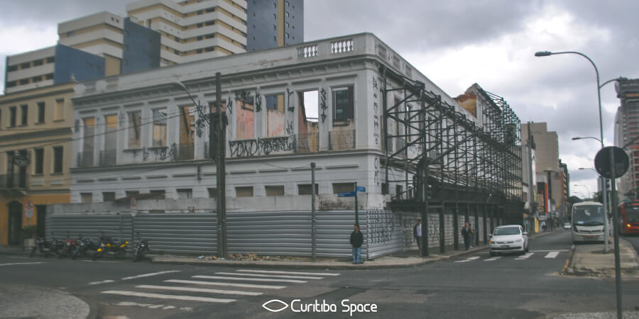 Sobrado do antigo Hotel Tassi - Curitiba Space