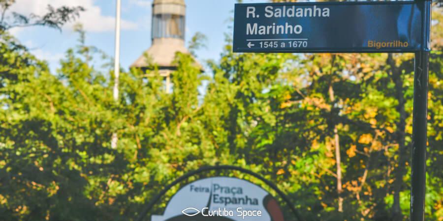 Quem foi: Saldanha Marinho - Curitiba Space