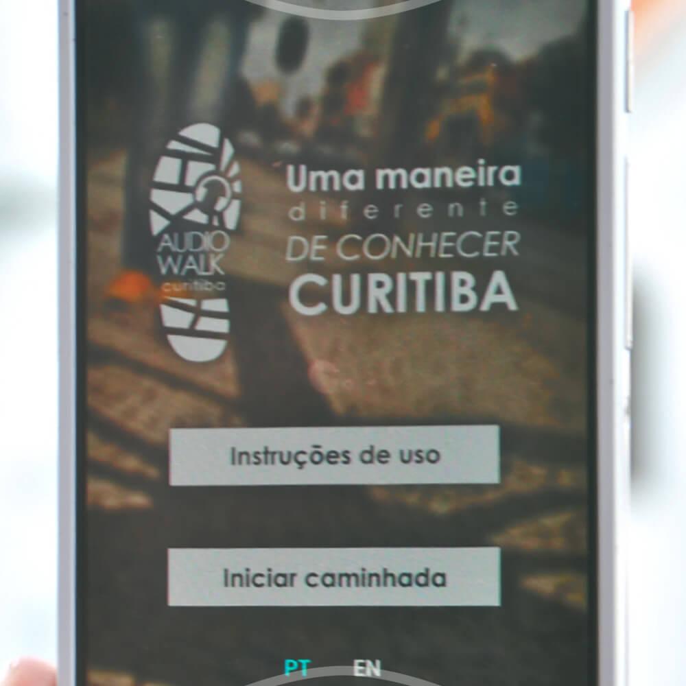 Um Passeio Com O Curitiba AudioWalk