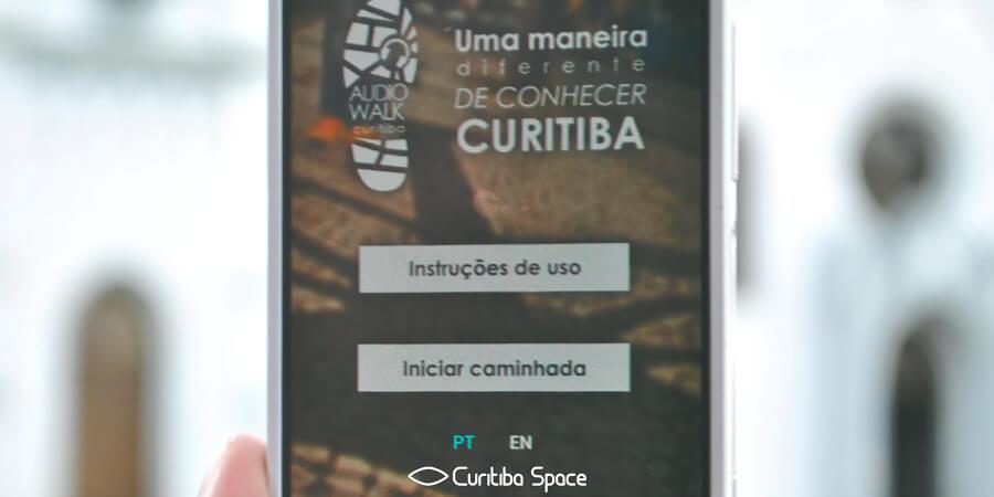 Curitiba AudioWalk - App - Curitiab Space