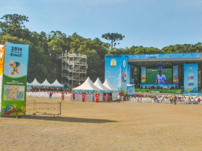 Um Dia Na Fifa Fan Fest De Curitiba