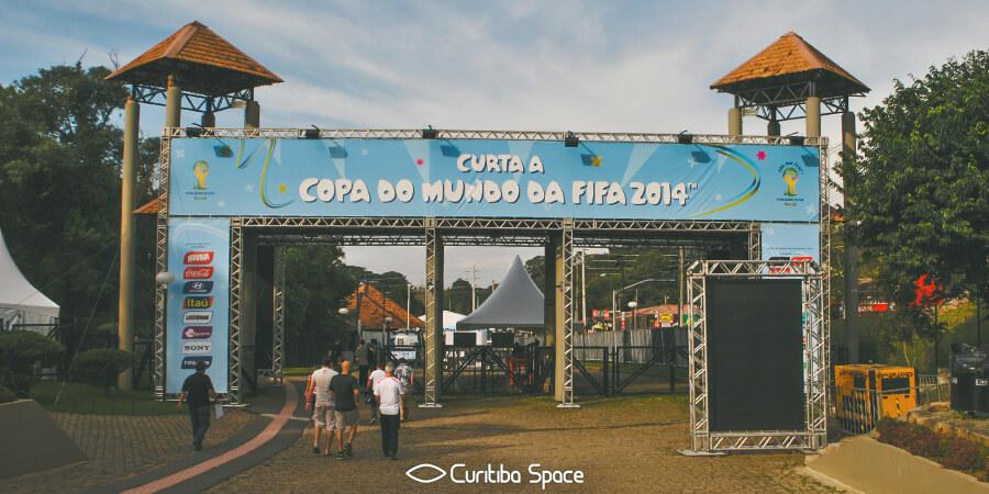 Fifa Fan Fest Curitiba - Copa do Mundo 2014 Brasil - Curitiba Space