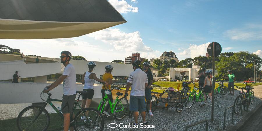 Kuritbike - Cicliturismo Urbano - Tour - Passeio de Bicicleta - Curitiba Space