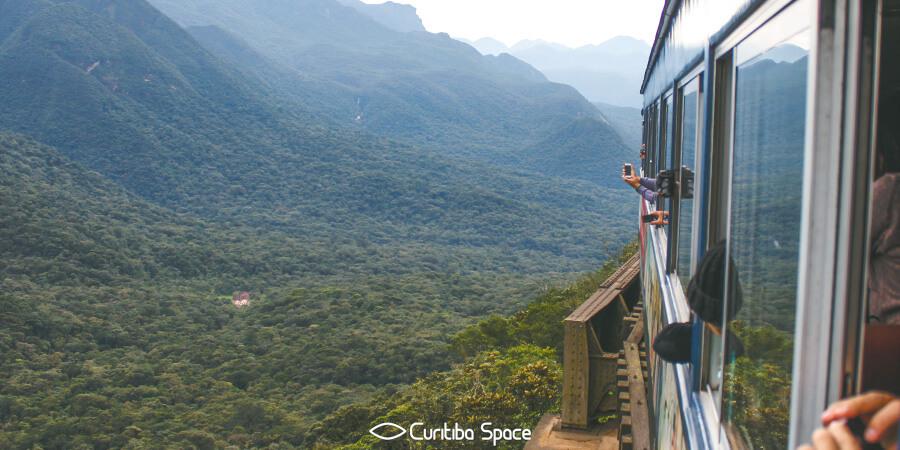 Serra Verde Express - Trem Morretes Curitiba - Serra do Mar - Curitiba Space