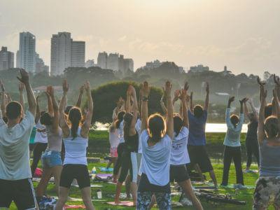 Participação No Yôga No Parque