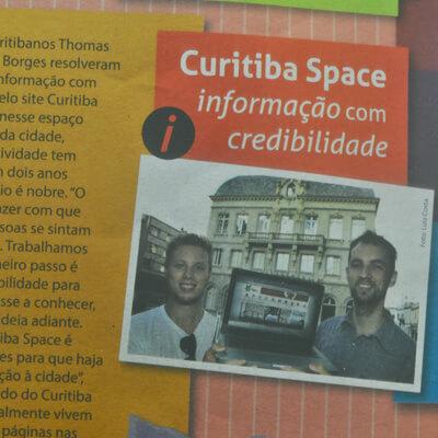 Curitiba Space No Boletim Do Paço Municipal